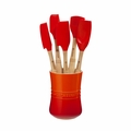Le Creuset Revolution 6 Piece Utensil Set - Flame - VB30016-2