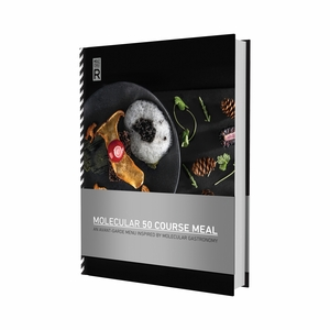 Molecule-R Molecular 50 Course Meal Book - 100807-MR