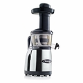 Omega Vertical Masticating Heavy Duty Juicer - Chrome - VRT380HDC
