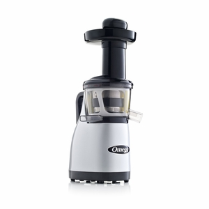 Omega Vertical Masticating Heavy Duty Juicer - Silver - VRT370HDS