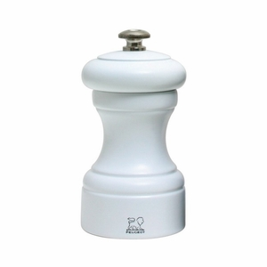 "Peugeot Bistro White Matte Pepper Mill 10cm/4"" - 24215"