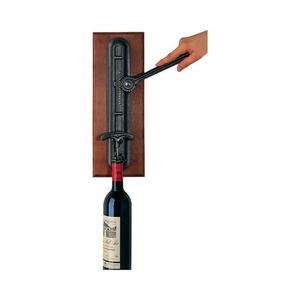 Peugeot Cremaillere Wall-Mounted Cork Remover Rack - 200084