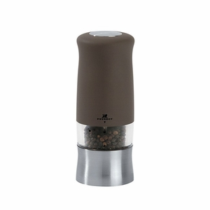 """Peugeot Zephir Basalte Soft Touch Electric Pepper Mill 14cm/5.5"""" - PM21269"""