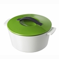 Revol Revolution .25 Qt Round Cocotte w/Lid - Lime Green - 642460