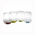 "Riedel O Happy ""O"" Wine Tumblers Glasses - Set of 4 - 5414/44"