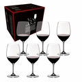 Riedel Vinum 260 Years Celebration Set Cabernet/Merlot Glasses - Set Of 6 - 7416/60-260