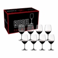 Riedel Vinum Cabernet Sauvignon/Merlot/Bordeaux Pay 6 Get 8 Glasses - Set of 8 - 7416/0