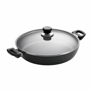 """Scanpan Classic - 12 1/2"""" Covered Chef Pan - 32151200"""