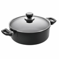 Scanpan Classic - 5 1/2 Qt Covered Low Sauce Pot - 28201200