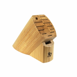 Shun 13-Slot Bamboo Block - DM0830