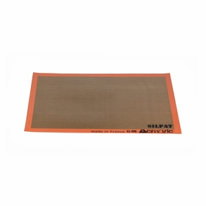 "Silpat Medium Size Baking Mat - 9 1/2"" x 14 3/8"" - AE365240-02"