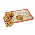 "Silpat Perfect Pretzel Baking Mat - 11 5/8"" x 16 1/2"" - AE420295-21"