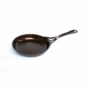 """SolidTeknics AUS-ION Smooth Finish 26cm (10.24"""") Formed-iron Skillet, 3mm Australian Iron, Professional Grade Cookware - i126S"""