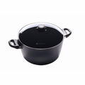 "Swiss Diamond - 11"" Induction Stock Pot w/Lid - 6128ic"