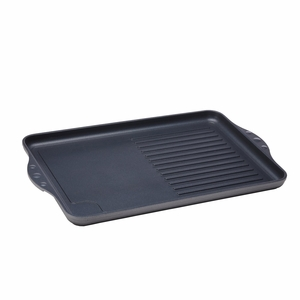 """Swiss Diamond - 17"""" x 11"""" Double Burner Grill/Griddle - 64328-2"""