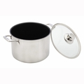 "Swiss Diamond - 9.5"" Prestige Clad Stock Pot w/Lid - SDP31724i"