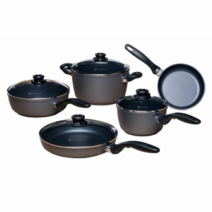 Swiss Diamond - 9 Pc Cookware Set - 609