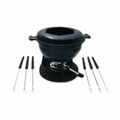 Swissmar Lucerne 10Pc Meat Fondue Set - Blue - F66520