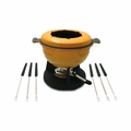 Swissmar Lucerne 10Pc Meat Fondue Set - Yellow - F66530