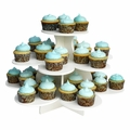 The Smart Baker 3 Tier Flower PVC Cupcake Tower Stand - TSB4140