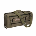 The Ultimate Edge Evolution 18-Piece Deluxe Knife Case w/Accessory Compartment - Olive - 2001-EDOL