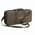 The Ultimate Edge Evolution 18-Piece Knife Case w/Accessory Compartment - Olive - 2001-EVOL