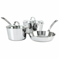 Viking Contemporary 3-Ply - 5 Pc. Starter Cookware Set - Mirror Finish - 4513-3S05