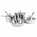 Viking Contemporary 3-Ply - 7 Pc. Cookware Set - Mirror Finish - 4513-3S07