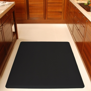 WellnessMats Black - 5' x 4' - 54WMRBLK