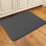 WellnessMats Motif Collection - Entwine - Grey - 3' x 2' - ME32WMRGRY
