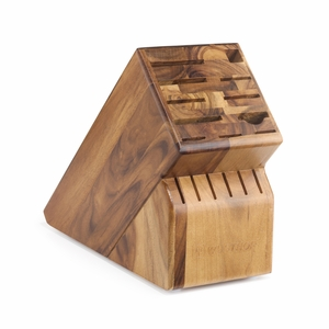 Wusthof 17-Slot Knife Block - Acacia - 7267-17