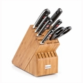 Wusthof Classic - 8 Pc Deluxe Knife Block Set - Bamboo - 8408-5