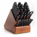 Wusthof Gourmet - 36 Pc Knife Block Set - 8936