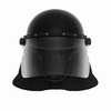 Bulletblocker NIJ 0104.02 GY6 Tactical Riot Helmet / gas mask compatible