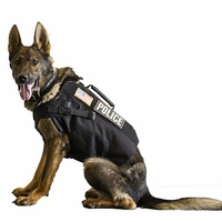 BulletBlocker NIJ IIIA Bulletproof K9 Shadow K-9 Vest