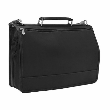 BulletBlocker NIJ IIIA Bulletproof Leather Expandable Briefcase