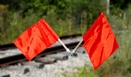 Aldon 4015-20 Red Nylon Flags