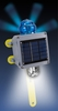 Aldon 4015-205 Flashing Solar Combo Light With Mounting Bracket