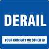 "Aldon 4015-268 Customized ""Derail"" (Blue)"