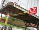 Aldon 4015-99 Kingpin Trailer Stop Sign(Holder W/Red Stop Sign