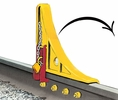 Aldon 4016-05-R Cs-3X Locking Car Stop-Right