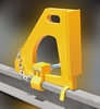 Aldon 4016-21 Bumper Contact Crane Stop - Wedge Dog Type