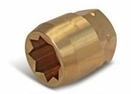 Aldon 4024-262 Bronze Socket Inserts For Never Slip Holders 8 Point: 1-7/16""