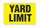 "Aldon 4115-34 ""Yard Limit"" Sign"