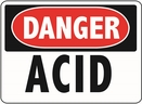 Aldon 6-ACID Danger - Acid Sign