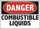 Aldon 6-COMB Danger - Commbustable Liquids Sign