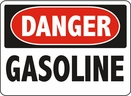 Aldon 6-GAS Danger - Gasoline Sign