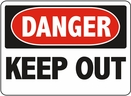 Aldon 6-KEEP3 Danger - Keep Out Sign