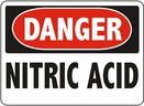 Aldon 6-NITR Danger - Nitric Acid Sign