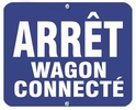 Aldon 6AWC-B Arret - Wagon Connecte (Blue)